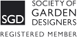 Jill Fenwick is a registered member of the Society of Garden Designers. The UK's only professional garden design organisation.